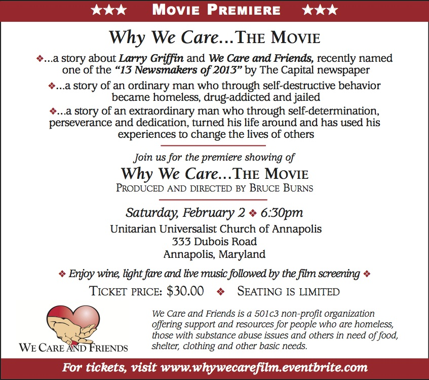 """""""Why We Care"""", the documentary – Premiere Event"""
